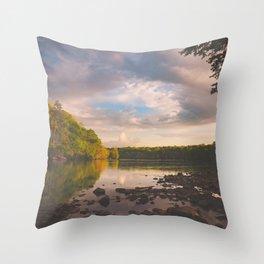 Sope Creek, Georgia Throw Pillow