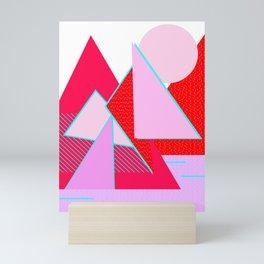 Hello Mountains - Flowering Slopes Mini Art Print