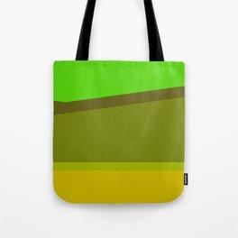 Green Field v3 Tote Bag