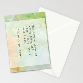 Meeting Stationery Cards