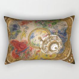 Opera Garnier Paris Rectangular Pillow