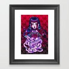 Goth Penanggalan Framed Art Print