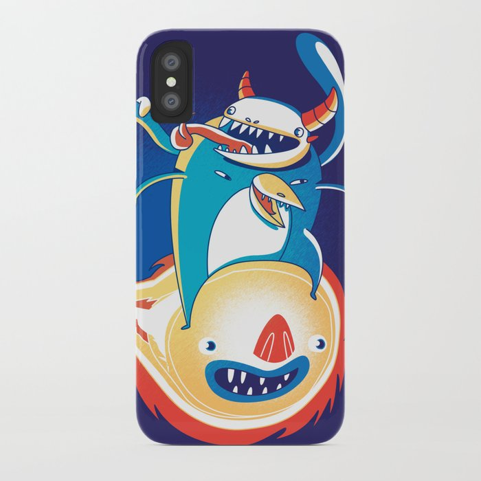 Monsteroid! iPhone Case