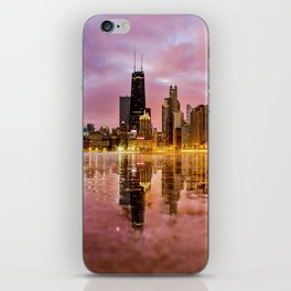 Chicago Reflections iPhone Skin