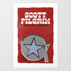 Scott Pilgrim VS The World Art Print
