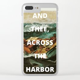 harbor (phone case) Clear iPhone Case