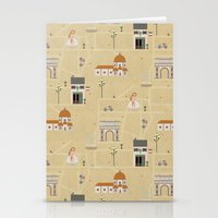 florence Stationery Cards featuring Florence by Charlotte Langstroth