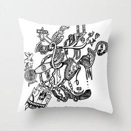 Strum Throw Pillow