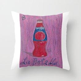 L.A. Loteria La Botella Throw Pillow