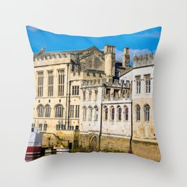 York City Guildhall in the spring sunshine. Throw Pillow