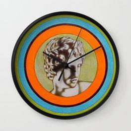 Apollo alla Galleria degli Uffizi Wall Clock