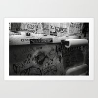bathroom Art Prints featuring Bathroom by N. Negron Photography