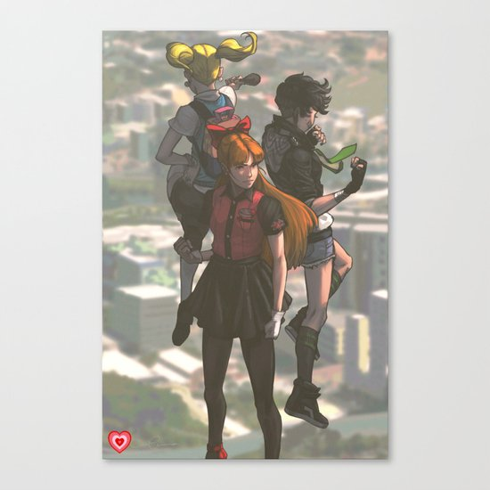 P P G Canvas Print