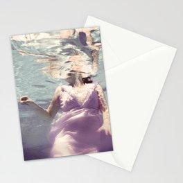 Dive in Violet Stationery Cards