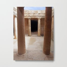 Tomb Of the Kings - Cyprus Metal Print