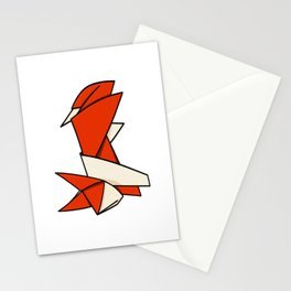 Origami Fox Stationery Cards