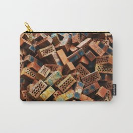 Chinese Bricks Carry-All Pouch