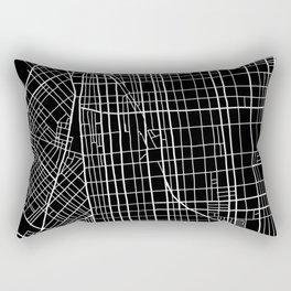 Fishtown and South Kensington Map Rectangular Pillow