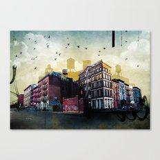 A New York City Street Canvas Print