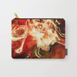 Red smoke background Carry-All Pouch