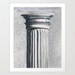 Doric Column Art Print