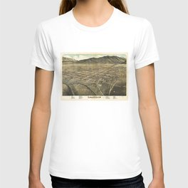 Bird's eye view of Leadville, Lake County, Colorado (1879) T-shirt