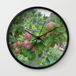 Fruitful Growth Wall Clock