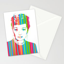 Lucille Ball | Pop Art Stationery Cards
