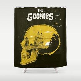 The Goonies art movie inspired Shower Curtain