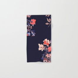 Colorful Night Roses Hand & Bath Towel