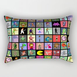 Pixel Heroes Rectangular Pillow