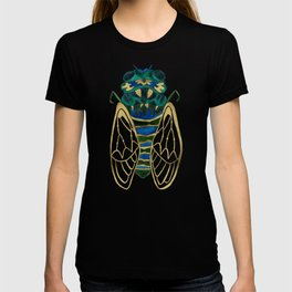 Green & Gold Cicada T-shirt
