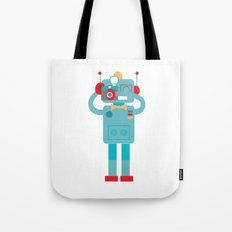 Robot loves Diana Tote Bag