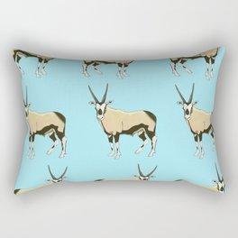 Desert Oryx Rectangular Pillow
