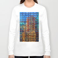 buildings Long Sleeve T-shirts featuring Buildings in Buildings by davehare