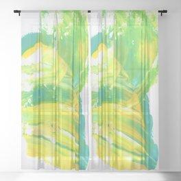 Abstract 881 Sheer Curtain