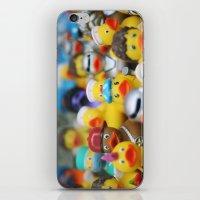 ducks iPhone & iPod Skins featuring Ducks by Galia Rogner