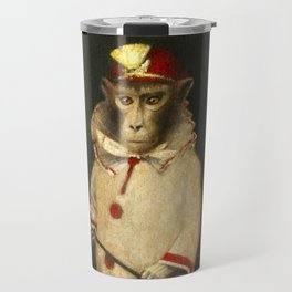 Vintage Magic Monkey Travel Mug
