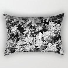 Succulent circle Rectangular Pillow