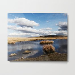 Brecon Beacons Metal Print