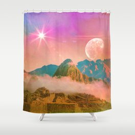 Ruins: Household of gods Shower Curtain