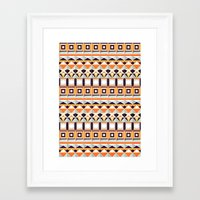 home alone Framed Art Prints featuring Home Alone by Anai Greog