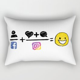 Color equation Rectangular Pillow