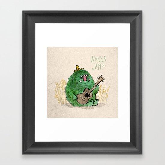 Monster Jam Framed Art Print