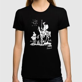 Pablo Picasso Don Quixote 1955 Artwork Shirt, Reproduction T-shirt