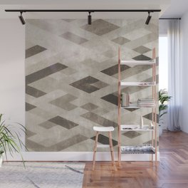 Abstract Pattern in Subtle Wall Mural