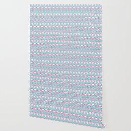 Doodle Love Heart Lines Wallpaper