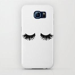 Eyelash Print iPhone Case