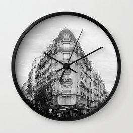 Paris in the Fall Wall Clock