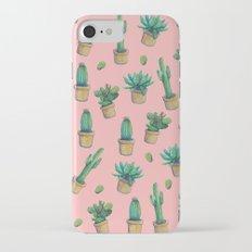 cactus pink2 Slim Case iPhone 7